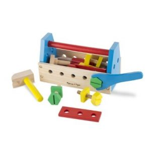 Melissa and Doug Take Along Tool Kit Wooden Toy