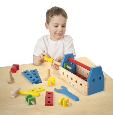 wooden tool kit