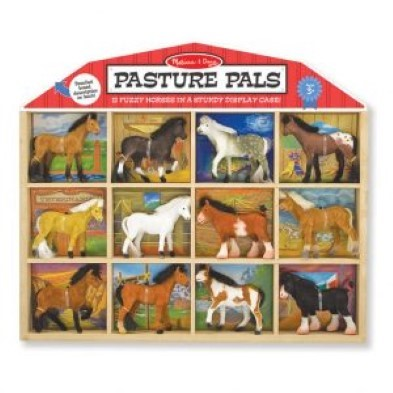 horse toys pasture pals melissa and doug