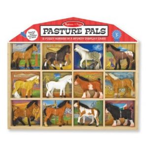 pasture pals melissa and doug toy horse set