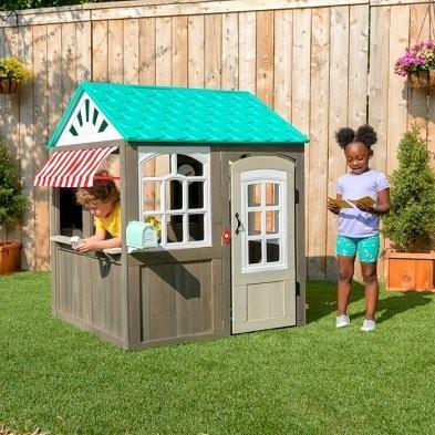 coastal cottage playhouse by Kidkraft