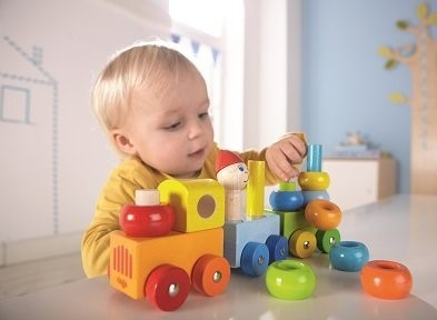 Haba Discovery Train Curly Colour