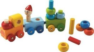 Haba Discovery Train Curly Color