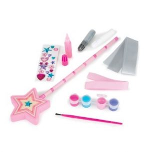 Melissa and Doug Decorate Your Own Wooden Princess Wand