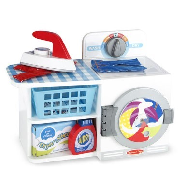 toy washing machine and ironing set