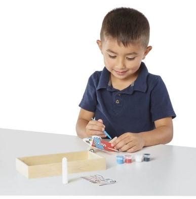 wooden plane kids crafts