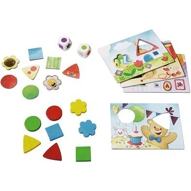 haba my very first gamesteddy colours and shapes game pieces