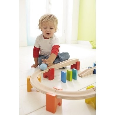 haba my first ball track with boy