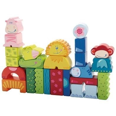haba zoo building blocks enny meeny zoo
