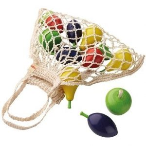 haba shopping bag toy fruit