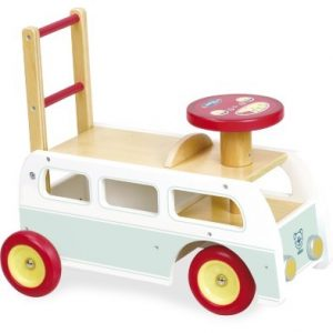 Vilac Retro 2 In 1 Wooden Camper Van