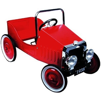 Classic Red Pedal Car Goki