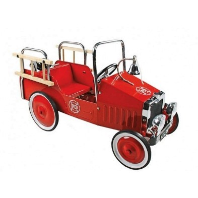 flame redfire engine pedal truck