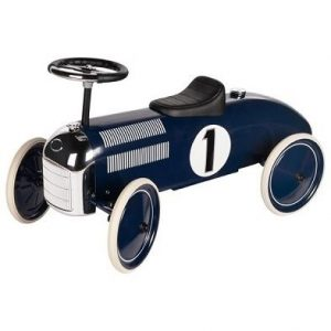 Navy Blue Classic Ride on Car