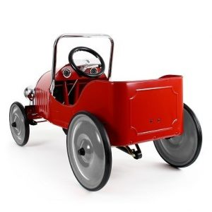 Baghera Classic Red Pedal Car