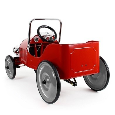baghera red pedal car 1938 rear
