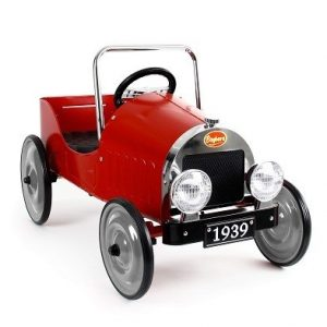 baghera red pedal car 1938