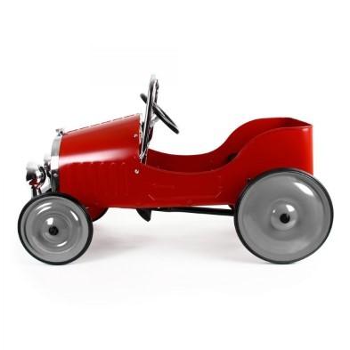 baghera classic red pedal car 1938