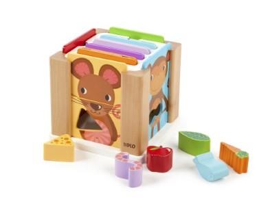 T-0209 Tidlo Animal Sorting Cube 001