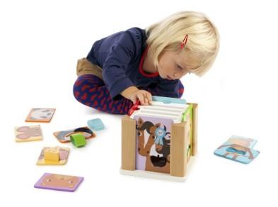 T-0209 Tidlo Animal Sorting Cube 003