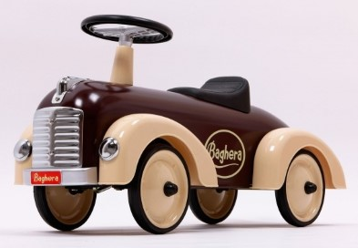 884 Baghera Speedster Chocolate Ride on Car 002