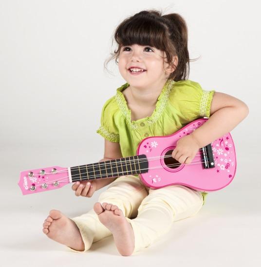 T-0057 Tidlo Pink Guitar 002