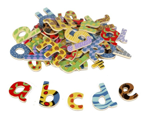 T-0073 Tidlo Lowercase Magnetic Letters 001