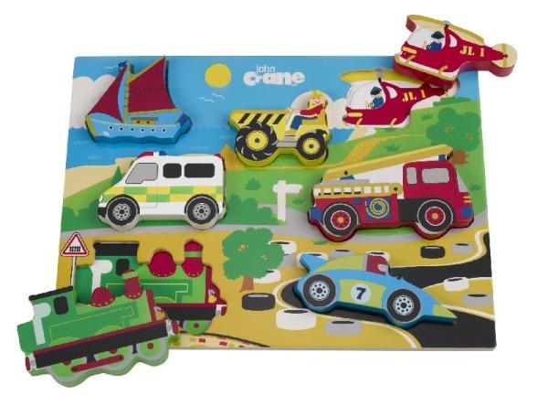 Tidlo Chunky Transport Puzzle
