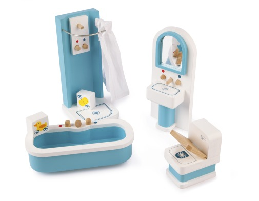 T-0222 Tidlo Bathroom Dolls House Furniture 001