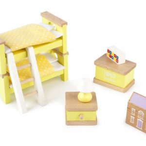 Tidlo Children's Bedroom Dolls House Furniture