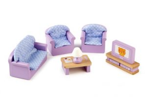 T-0225  Tidlo Living Room Dolls House Furniture 001