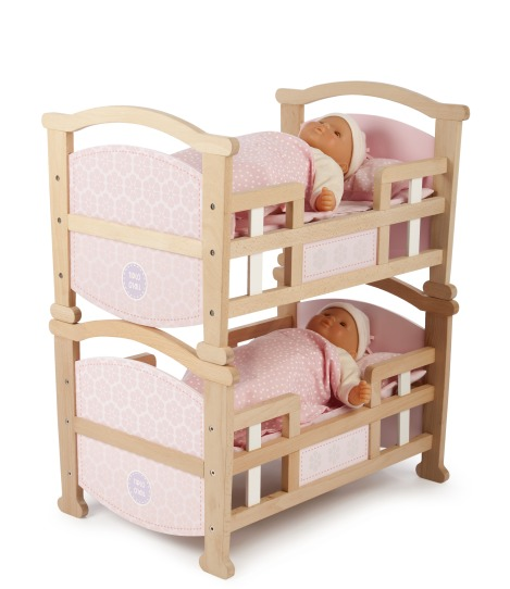 T-0212 Tidlo 2 in 1 Dolls Cradle as bed 004