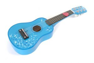 T-0056 Tidlo Blue Guitar 001