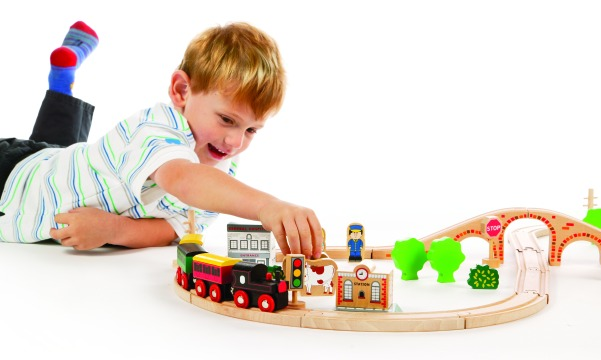 T-0097 Tidlo 50 Piece Train Set 003