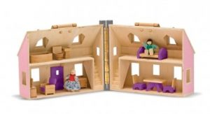Melissa and Doug Fold and Go Doll's House