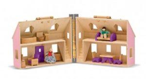 Melissa and Doug Fold and Go Doll's House