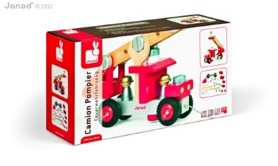 J06498 Janod DIY Fire Truck 005