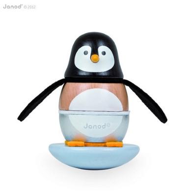 J08127 Janod Penguin Stacker and Rocker 001