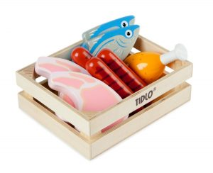 T-0104 Tidlo Wooden Meat and Fish Crate 001