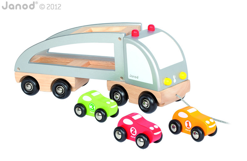 J05603 Janod Multi Cars Truck 003