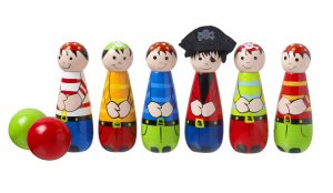 Orange Tree Toys Wooden Pirate Skittles
