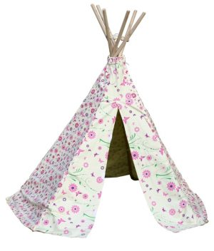 GG3041 Flower and Butterfly Wigwam 001