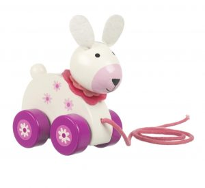 Orange Tree Toys Pull Along Rabbit