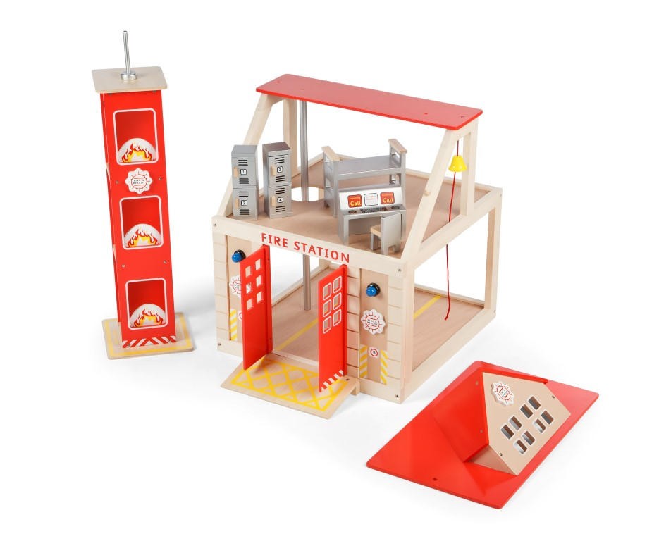 T-0116 Tidlo Fire Station Set with Training Tower  003