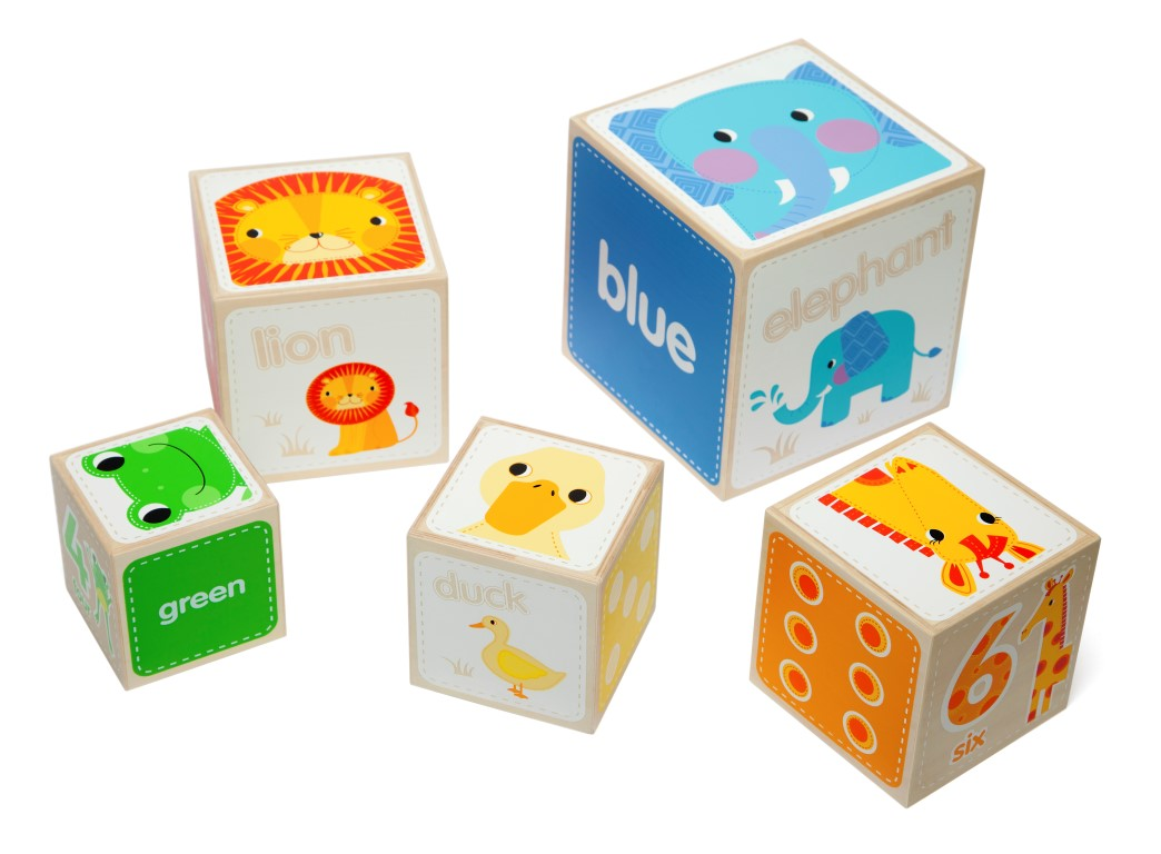 T-0053 Tidlo Animal Stacking Cubes 006