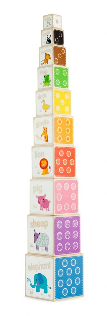 T-0053 Tidlo Animal Stacking Cubes 004