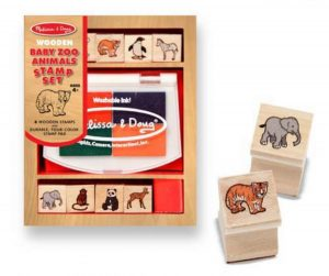 MD11638 Melissa and Doug Baby Zoo Animals Stamp Set 001