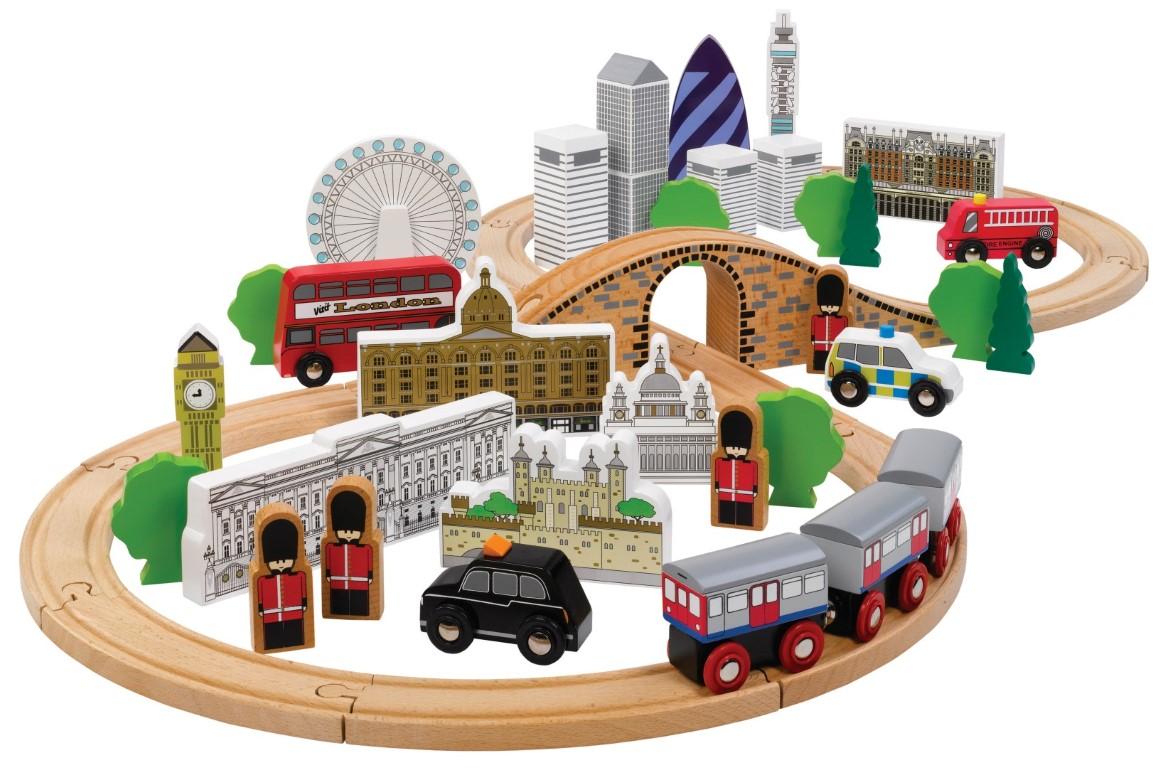 T-0099 Tidlo City of London Train Set 001