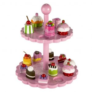 T-0138 Tidlo High Tea Shape Matching wooden toy 001
