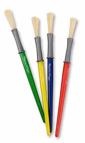 Medium Paint Brushes by Melissa and Doug